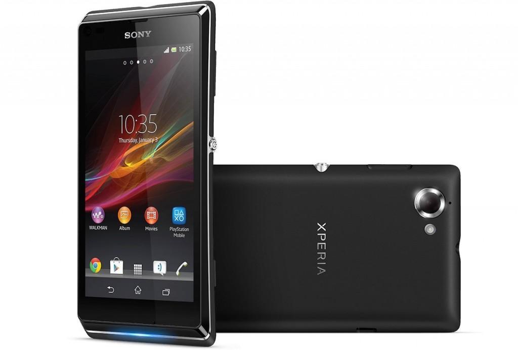 Sony Xperia L schwarz