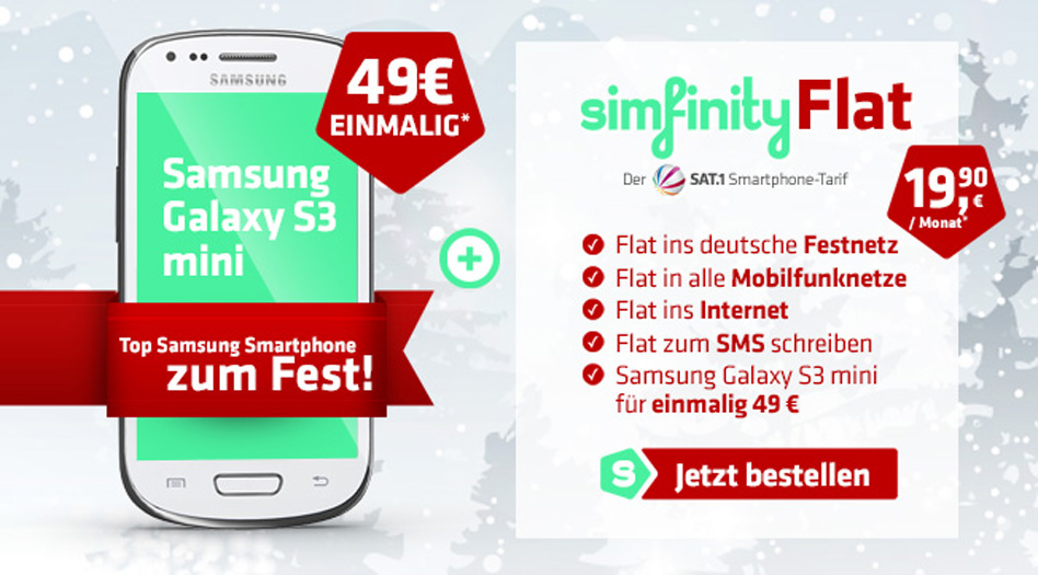 Simfinity S3 mini Aktion