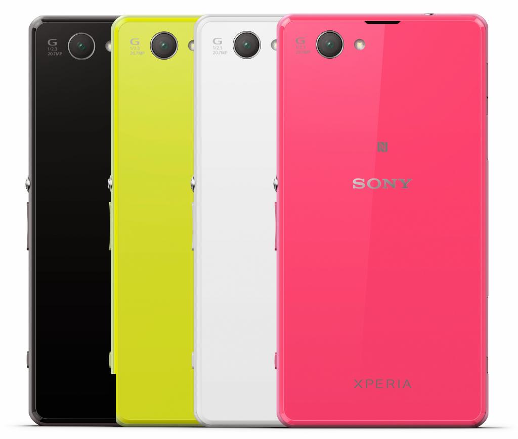 Z1 Compact Farben
