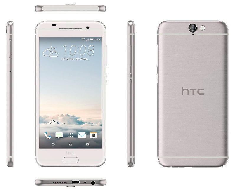 HTC One A9 silber