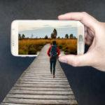 Reisen mit Smartphone
