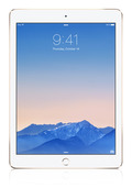Apple ipad air2 gold front