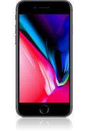 Apple iphone 8 space grau vorn