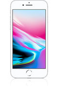 Apple iphone 8 silber vorn